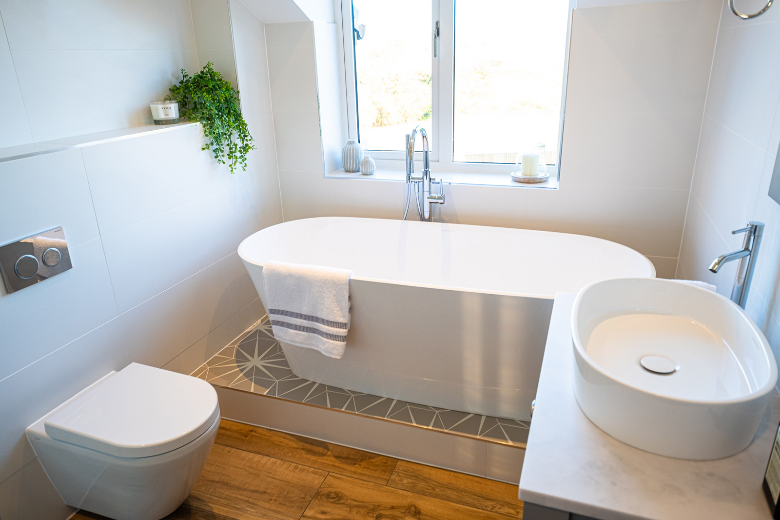 Family Bathroom, Cheshire