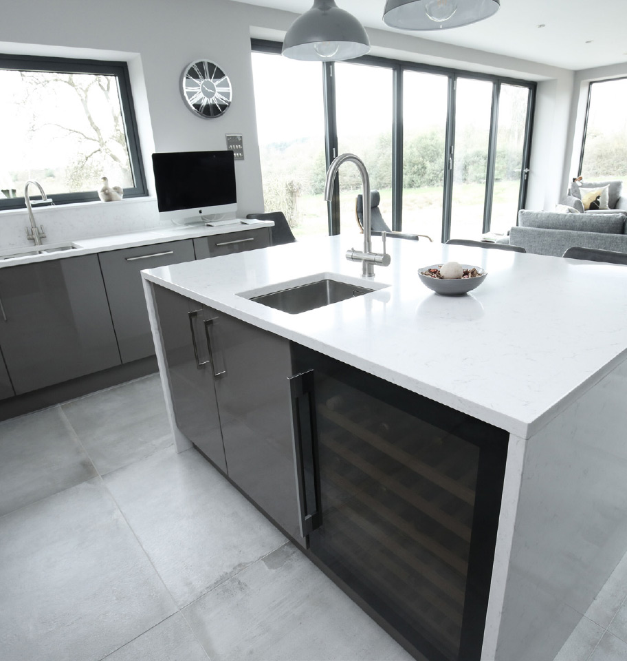 Contemporary Kitchen, Staffordshire